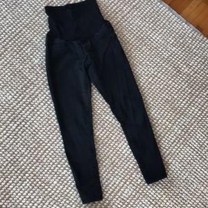 Motherhood Maternity black skinny jeans